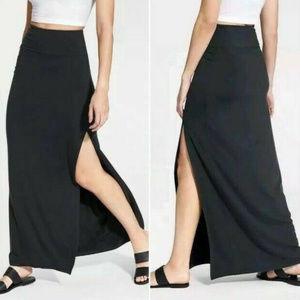 Athleta Black Marina Maxi Skirt